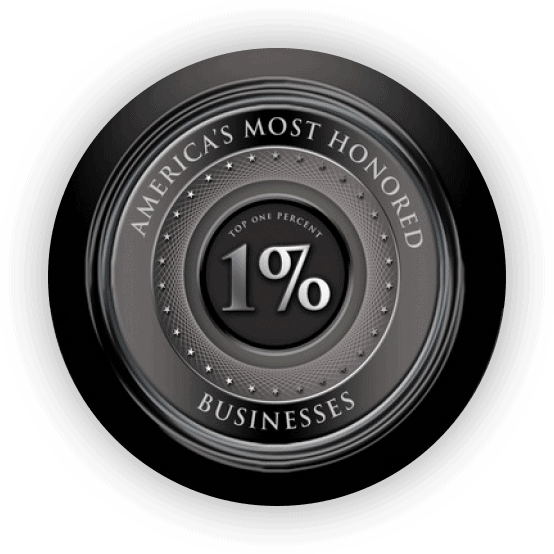 America's Most Honored Businesses Top 1% 2017